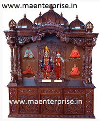 Beautifull carved temple mandir for home from India