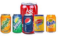 Soft Drinks Mirinda, Sprite, Coke, Fanta, Lipton Ice Tea, Pepsi, Cola 330ml Can