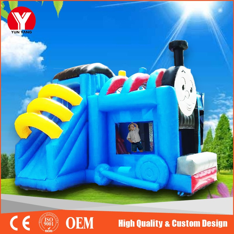 inflatable bouncer with slide 1
