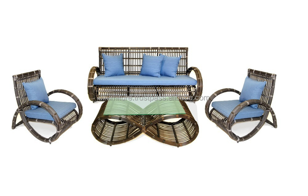 new design poly rattan sofa set synthetic rattan furniture. Black Bedroom Furniture Sets. Home Design Ideas