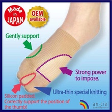 Original knitted socks hallux valgus supporters using the water-absorbing quick dry