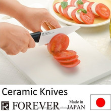 Ceramic knife suitable as an apple peeler, great wear performance, very hygienic, no metal smell on fresh fruit, made in Japan