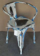 Renkli eski anti- su döküm sanayi sandalyeler endüstriyel demir endüstriyel sandalye modern tasarım demir endüstriyel sandalye