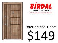 EXTERIOR STEEL DOORS