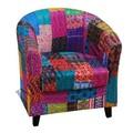 vintage kantha trabajo muebles tapizados sofá de sillas