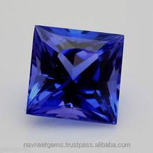 Dark blue natural semi precious stones