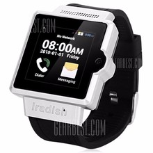 Just The New Android 4.0 Smart Watch 1.2GHZ MTK6577 Dual Core Bluetooth Camera