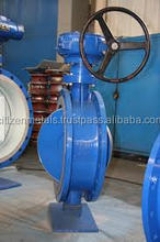 HAND WHEEL OPERATED LUGGED TYPE BUTTERFLY VALVE
