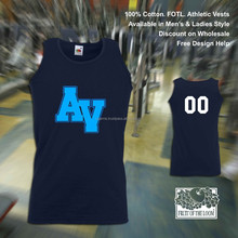 wholesale cheap gym workout sports cotton vest tops