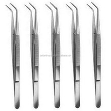"College/ Cotton Dressing Pliers 6""Dental Surgical Instruments with lock N/Cotton & Dressing Pliers/Dental Instruments"