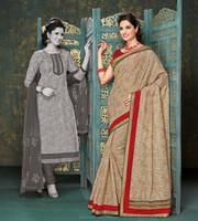 Banarasi Silk Bhagalpuri Silk Saree