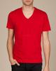 custom v-neck t shirt ,China wholesale cheap v-neck t shirt silk-screen printing v-neck t-shirt