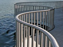 Stainless Steel Railings & Glass for Waterfront, Balcony and Stairs