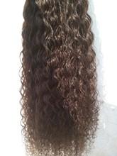 Combodian human hair 100% Virgin Hair Extension straight curly wavy