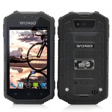 4 Inch Rugged Android Dual Core Phone - Black