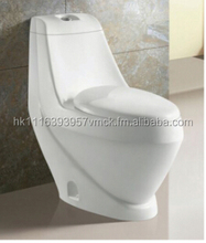 R711 Floor Mounted High Grade Washdown One piece china toilet