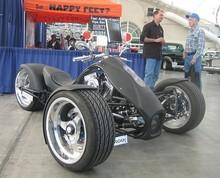 100% Original Adrenaline F3 Three Wheel Motorcycle