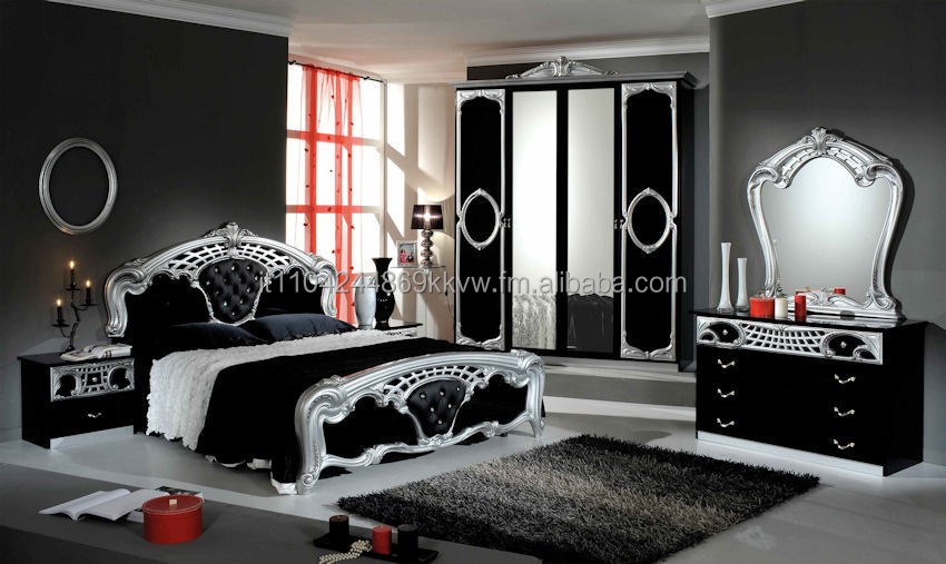 gray bedroom furniture