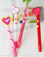 Polymer Clay Jewelry Ball Pen black refill & mixed 15-17cm 20PCs/Bag Sold By Bag