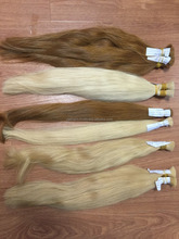 Dyed human Viet Nam hair with a lot of color in the pallet: #613, #12,#4, #14,..