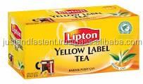 TEA BAGS, LIPTON YELLOW LABEL TEA