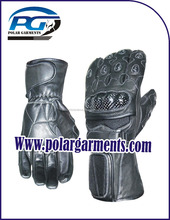Genuine cow hide analine leather gloves/Motorbike gloves/Racing gloves