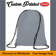cheap gym sports day drawstring bags