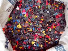 ABS BLACK color Plastic regrind
