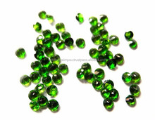 Natural Chrome Diopside 3mm Round Cut Loose Gemstone