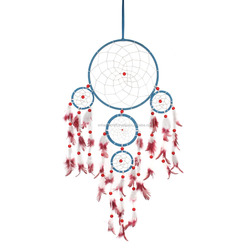 pink and turquoise dream catcher wall hanging unique design indian dream catcher