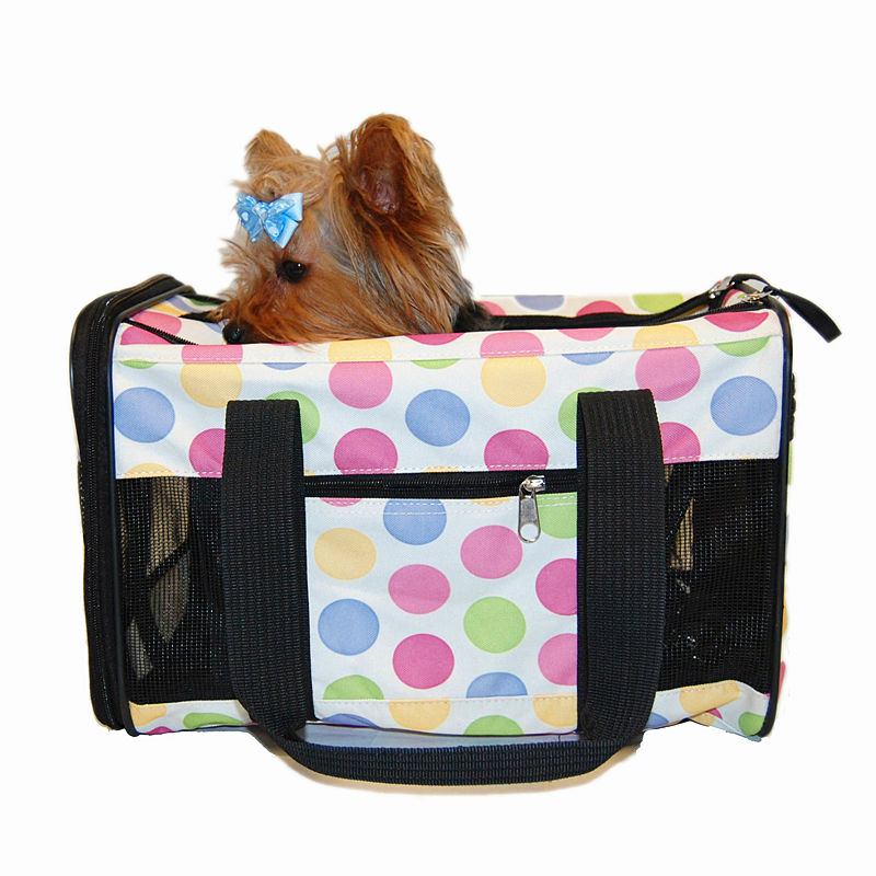 Soft Portable Dog Crocodile Carrier Pet Travel Bag with Mesh Window