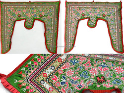 Authantic Door Valance Ethnic Tribal Door Valance Embroidered Kutch Door Wall Hanging