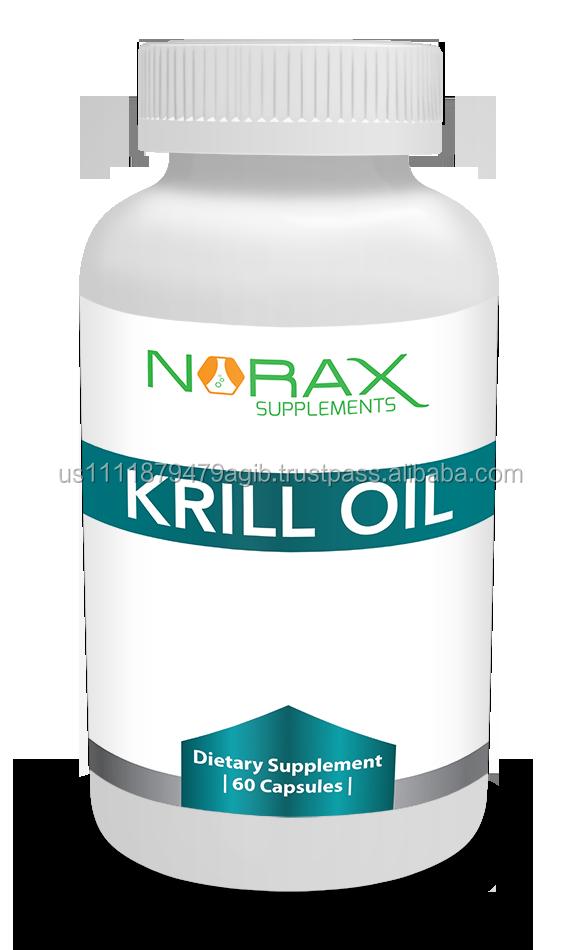 Krill oil high grade fish oil softgel private label oem for Krill or fish oil