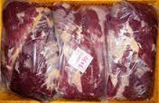 Frozen cattle boneless beef