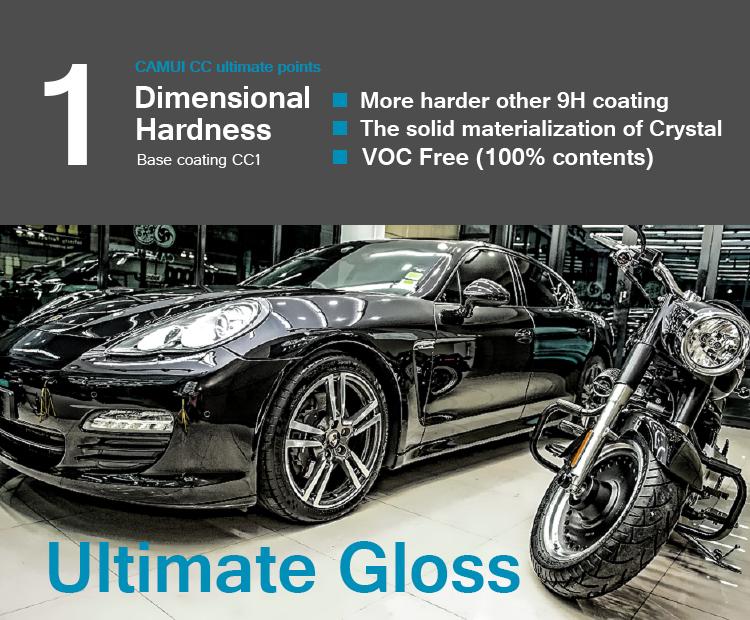 Camui X0 Nano Ceramic Car Coating High Density Crystality