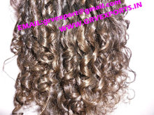 Indian Curly Human Hair from indian manufactures