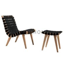 Risom Lounge Chair & Ottoman