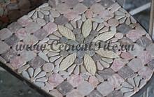 Encaustic cement tiles CTS Mosaic Table 8