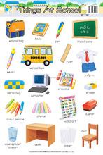 Wall Chart - FA0044E Things At School