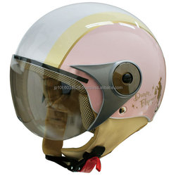 High quality and cute motorbike helmet for female riders in various colors and designs