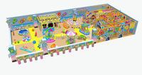 mini indoor playground with ball pool basketball board