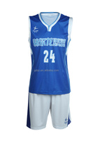 Healong Custom Made basketball training vest&shorts breathable basketball play jersey