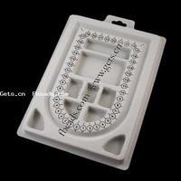 Bead Design Plastic Rectangle 23x15.5cm 100PCs/Lot Sold By Lot
