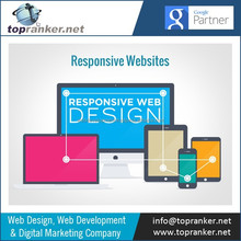 Mobile Website Design with Features like Top-to-call, Tap-to-sms,Dynamic Direction,Touch Icon