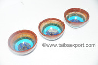 Seven Chakra Bonded 3-Inch Bowls