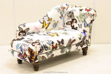 Exclusive Childrens Chaise Longue in Christian Lacroix Fabric