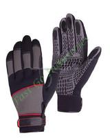 Amara Leather Spandex Mechanic Glove