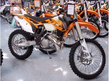 New KTM 300XC Motorcycle