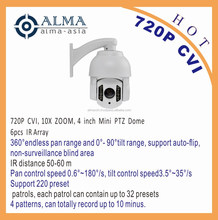 720P CVI 4inch Mini PTZ Dome