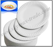 10 PC Disposable Paper Plate/Bowl Sets